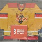 """Les Boys"" autographed hockey jersey"