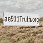 AE911Truth.org (website billboard) (StreetView)