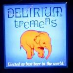 Delerium Tremens sign