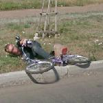 Bicycle accident (StreetView)
