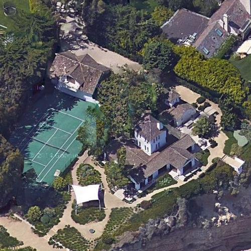 Bradley bell 39 s house in malibu ca bing maps 2 for Hans zimmer house