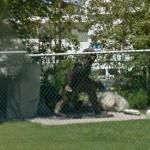 Bigfoot statue (StreetView)