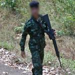 Thailand soldier (StreetView)