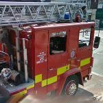 Dublin Fire Brigade ladder truck