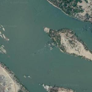 Lao Airlines Flight 301 crash site (Google Maps)