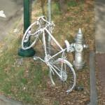 Ghost bike for John Smythe