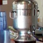 Percolating style coffee maker