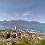 Panoramic View of Montreux
