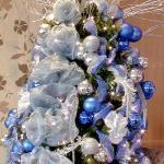 Blue Christmas Tree (StreetView)