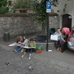 Artists in Cracow (StreetView)