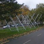 'Avenue K' by Kenneth Snelson (StreetView)