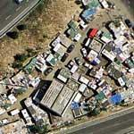 Shanty town near Paris