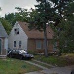 Eminem's Childhood Home (Damaged by Fire 7 Nov 2013)