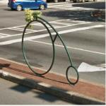 Bicycle-shaped Plant Holder