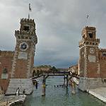 Entrance to the Venetian Arsenal