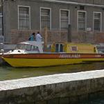 Venetian water ambulance