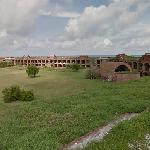 Fort Jefferson - Interior wall