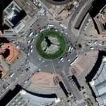 Plaça d'Espanya (Google Maps)