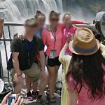 Photo in front of Niagara Falls