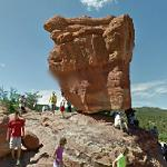 Balanced Rock (Garden of the Gods) (StreetView)
