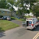 Ambulance at House (StreetView)