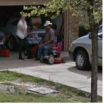 Cowboy Resting (StreetView)
