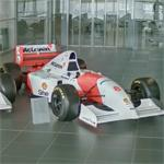 1993 McLaren Formula One car (StreetView)