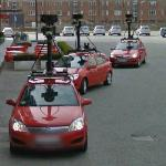 Google cars in Copenhagen