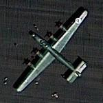 "Consolidated B-24 Liberator ""Witchcraft"" (Google Maps)"