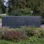 'Black Form - Dedicated to the Missing Jews' by Sol Lewitt (StreetView)