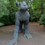 'Crawling' by Sophie Ryder (StreetView)