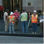 Contractors In Hard Hats (StreetView)