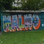 """""""Malmo"""" graffiti"""