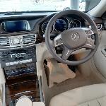 Mercedes E200 interior