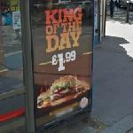 Burger King ad