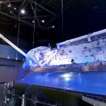 Space Shuttle Atlantis on display