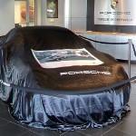 Porsche under a cover