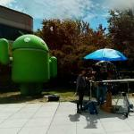 Photo shoot at Google Android HQ (StreetView)