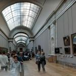 Inside the Louvre Museum