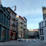 Backlot at Twentieth Century Fox Film Corporation
