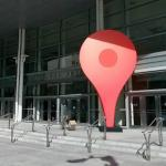 Google Maps place marker