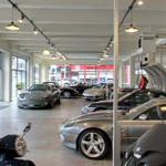 Automobile showroom