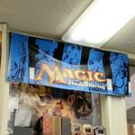 Magic: The Gathering poster, ad, sign or display