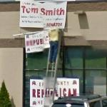 Tom Smith Republican Senator Candidate posters