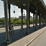 Pont Bir-Hakeim, 'Inception' filming location