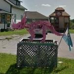 Pink Floyd, Pink Dinosaur Skeleton