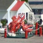 Large Fiberglass Lobster