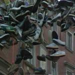 Extreme Shoe Tossing