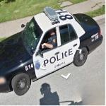 Omaha Police Car