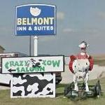 Cow Flasher Statue (StreetView)
